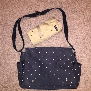 Authentic Kate spade diaper bag with changing mat